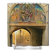 Decorative Laneway Of Florence  Shower Curtain