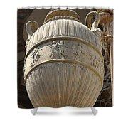 Decorative Urn - Palace Of Fine Arts Sf Shower Curtain