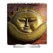 Decorative Wall Plaque In Kathmandu Nepal Shower Curtain