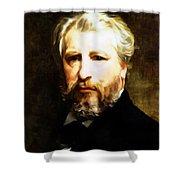 Dedication To William Adolphe Bouguereau Shower Curtain