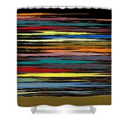 Deep Color Field 2 Shower Curtain