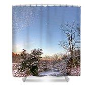 Deep Creek In Deep Sleep Shower Curtain