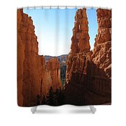 Deep Down - Bryce Canyon Shower Curtain