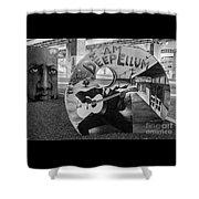 Deep Ellum Dallas Texas Art Shower Curtain
