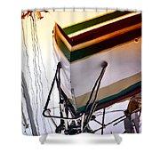 Deep Hull Shower Curtain