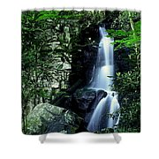 Deep In The Mountains Shower Curtain