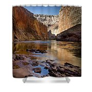 Deep Inside The Grand Canyon Shower Curtain