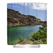 Deep Lake - Washington State Shower Curtain