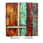 Deep Roots-a Shower Curtain