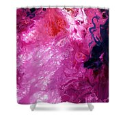 Deep Space Canvas Four Shower Curtain