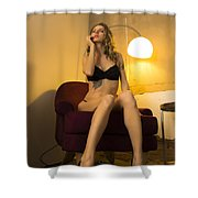 Deep Thoughts 1 Shower Curtain