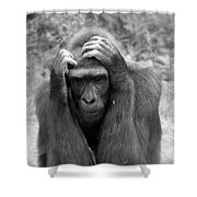 Deep Thoughts Shower Curtain