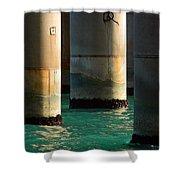 Deep Water Shower Curtain