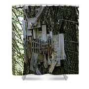 Deer Blind 01 Shower Curtain