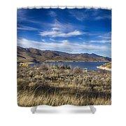 Deer Creek Dam-provo Utah Shower Curtain