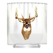Deer - Front View Shower Curtain