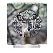 Deer Hunter's View Shower Curtain