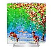 Deer Park Shower Curtain