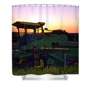 Deere At Dusk Shower Curtain