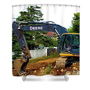 Deere For Hire Shower Curtain