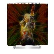 Def Leppard-adrenalize-joe-gb22-fractal-1 Shower Curtain