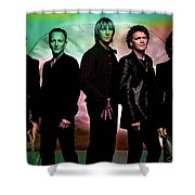 Def Leppard Shower Curtain