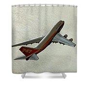 Definition - Boeing 747 Shower Curtain