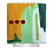 Deforestation Shower Curtain