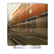 Del Mar In Motion Shower Curtain