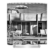 Del Marcos Palm Springs Shower Curtain