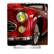 Delahaye 235 - Automobile   Shower Curtain