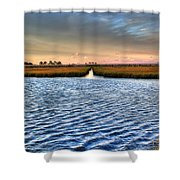 Delaware- Assawoman Bay Shower Curtain