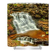 Delaware Falls - Ricketts Glen Shower Curtain