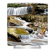 Delaware Falls Shower Curtain