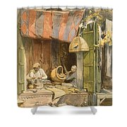 Delhi - Jeweller, From India Ancient Shower Curtain