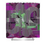 Deliberations Shower Curtain