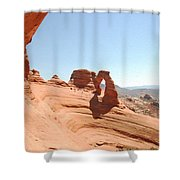 Delicate Arch 1 Shower Curtain