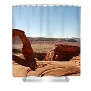 Delicate Arch 2 Shower Curtain