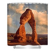 Delicate Arch In Arches National Park Shower Curtain