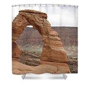 Delicate Arch Landscape Shower Curtain