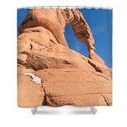 Delicate Arch South Side  Shower Curtain