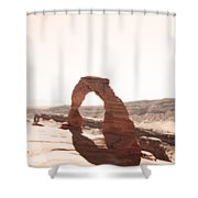 Delicate Arch  Shower Curtain
