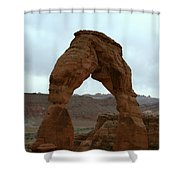 Delicate Arch View Shower Curtain