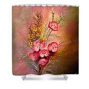 Delicate Beauty Of Spring Shower Curtain