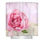 Delicate II Shower Curtain by Darren Fisher