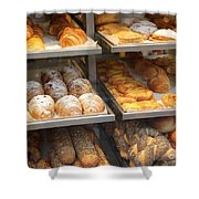 Delicious Pastries In Brussels Shower Curtain