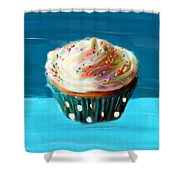 Delightful Sprinkles Shower Curtain