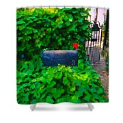 Deliver The Mail Shower Curtain