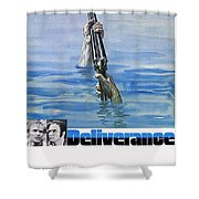 Deliverance Shower Curtain by Movie Poster Prints