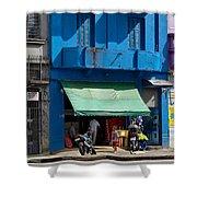 Delivery Boy - Sao Paiulo Shower Curtain